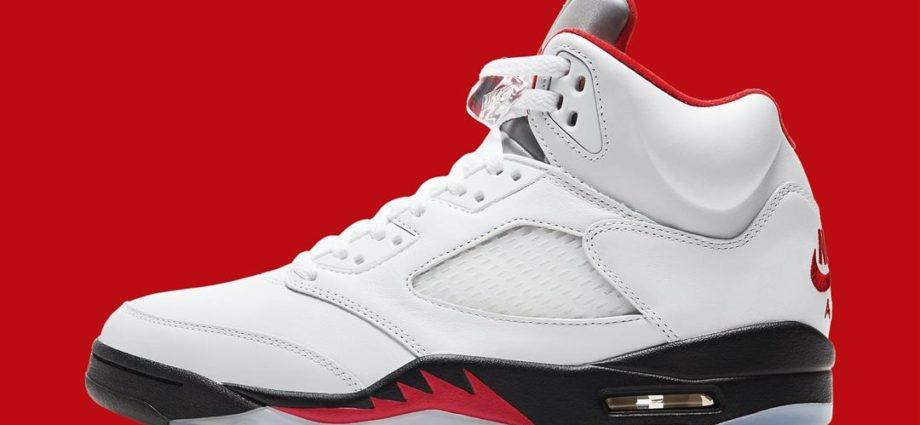 Nike Air Jordan V Fire Red-2